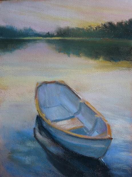dinghy, pastel mom
