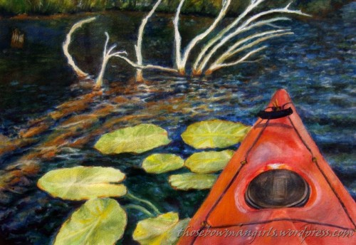 Kayaking Lake Dubonet