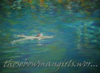 """Spring Swimmer"", Manatee Springs"