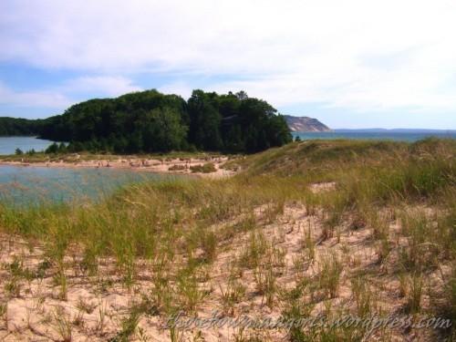North Bar and Lake Michigan