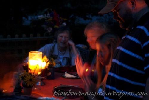 Grandma Carol Looking On