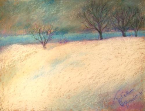 Winter Blue Horizon